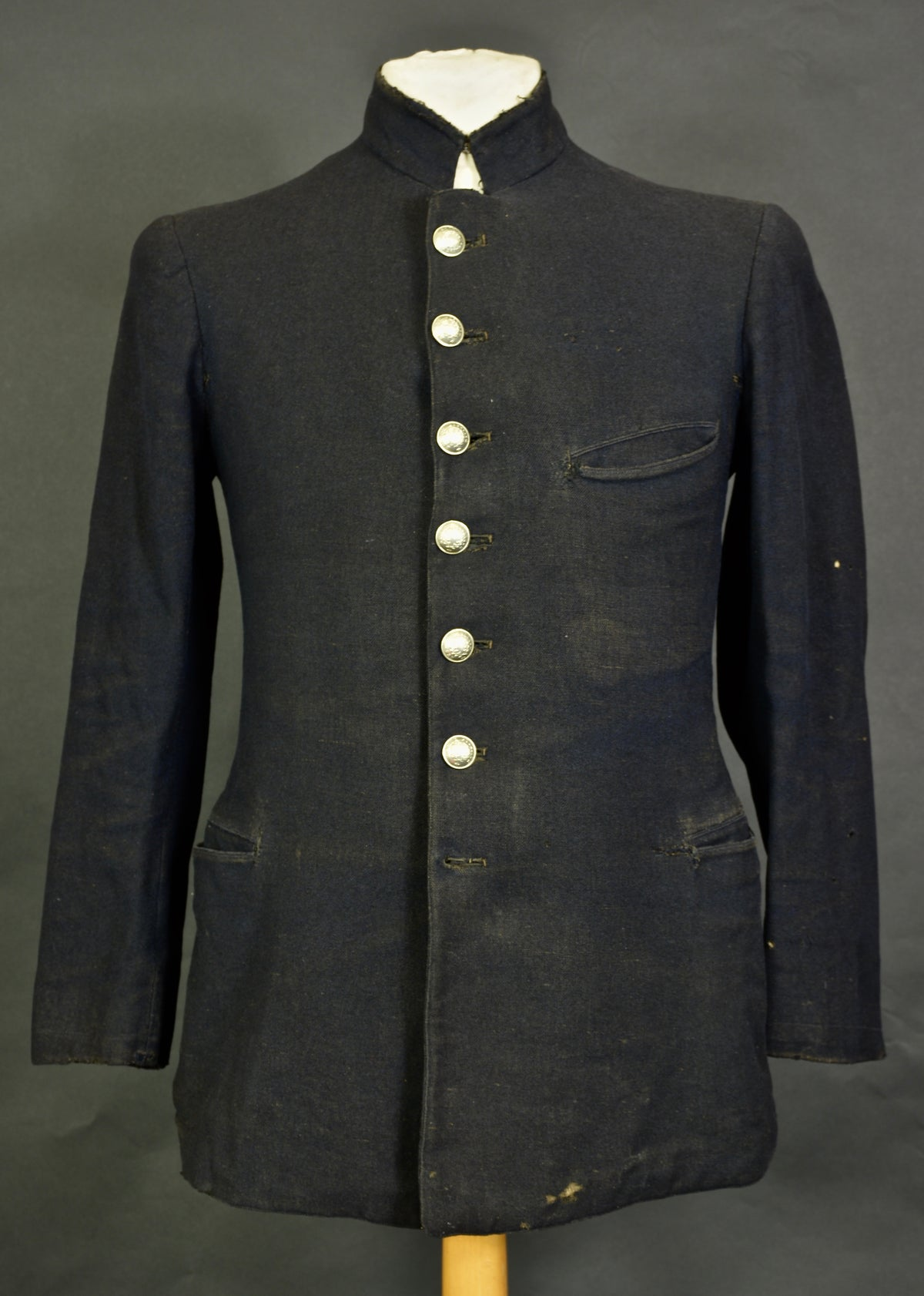 "Image of 1900'S FRENCH ""surete publique"" WOOLEN JACKET フレンチウールコスチュームジャケット"