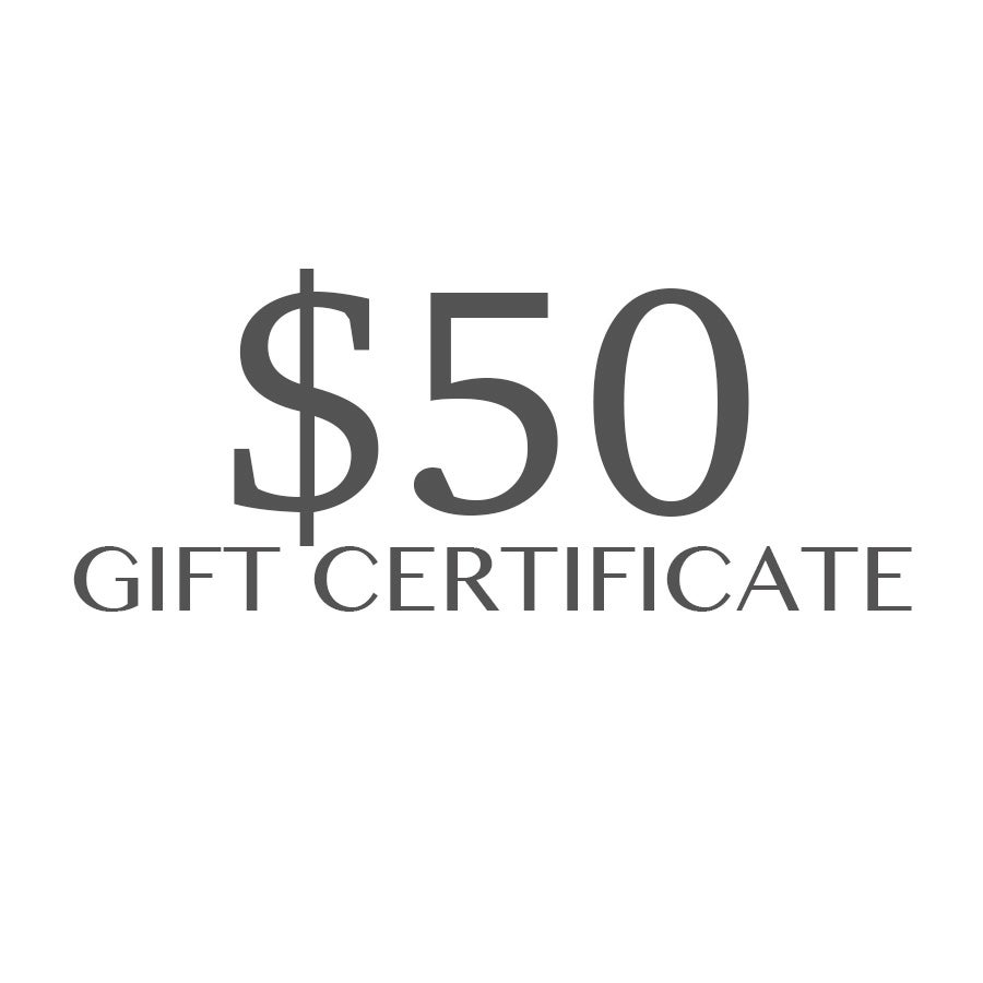 Image of $50 Gift Certificate