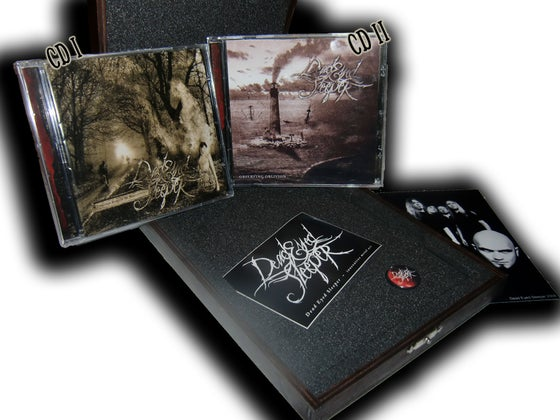 Image of Different CDs or ltd. woodbox