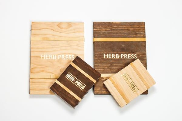 Herb-press - small natural - arminho
