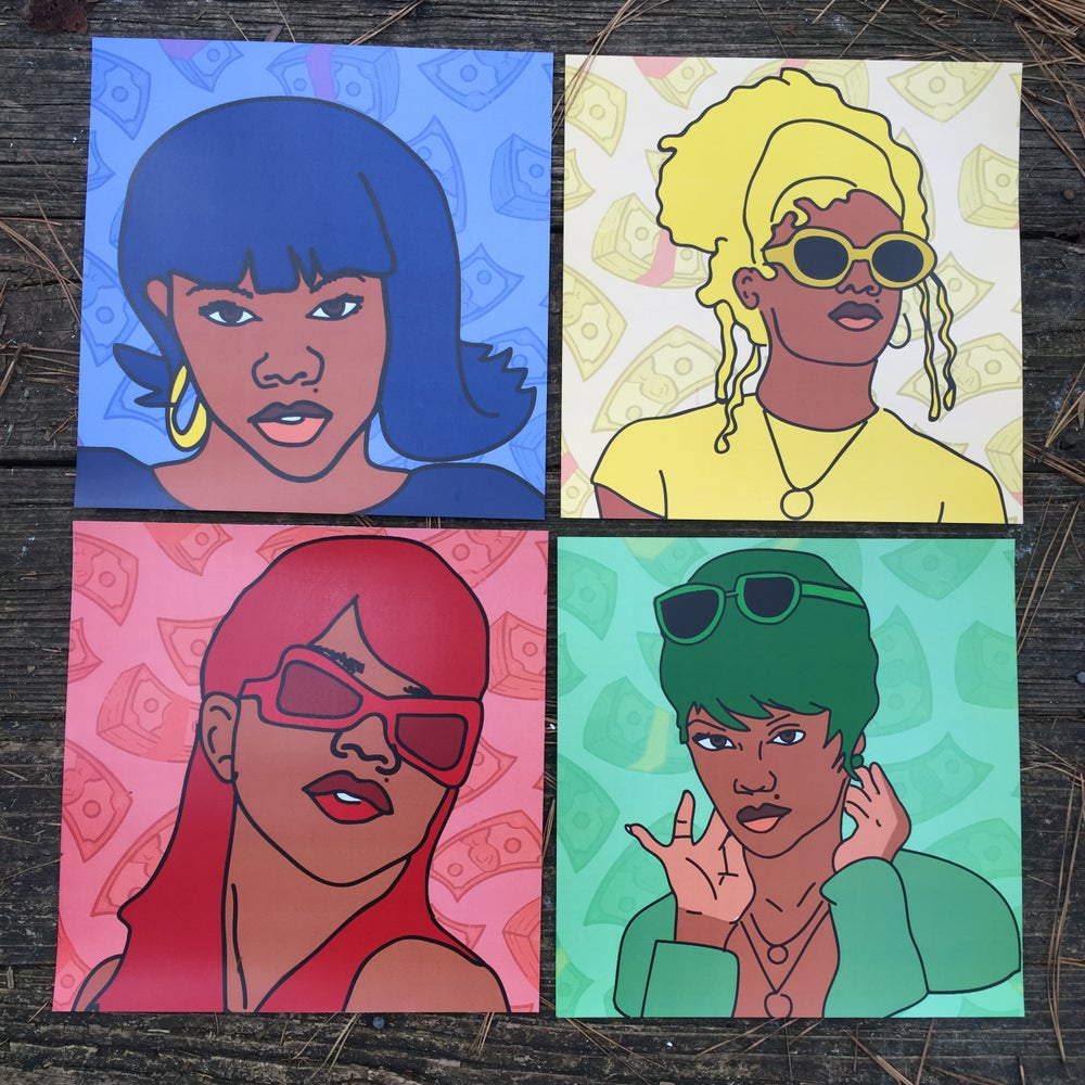 "Image of ""Big Momma"" Print Set"