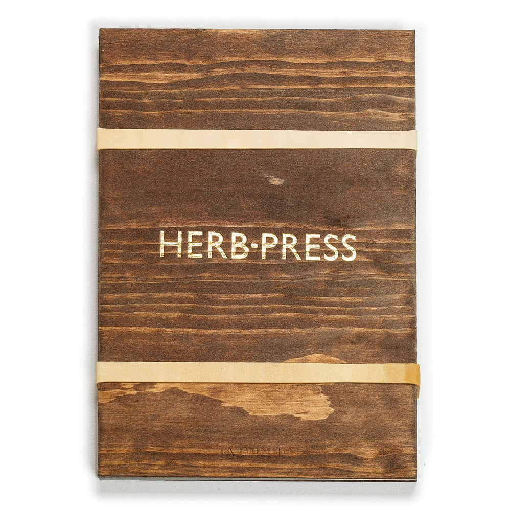 Image of HERB-PRESS - Large Aged