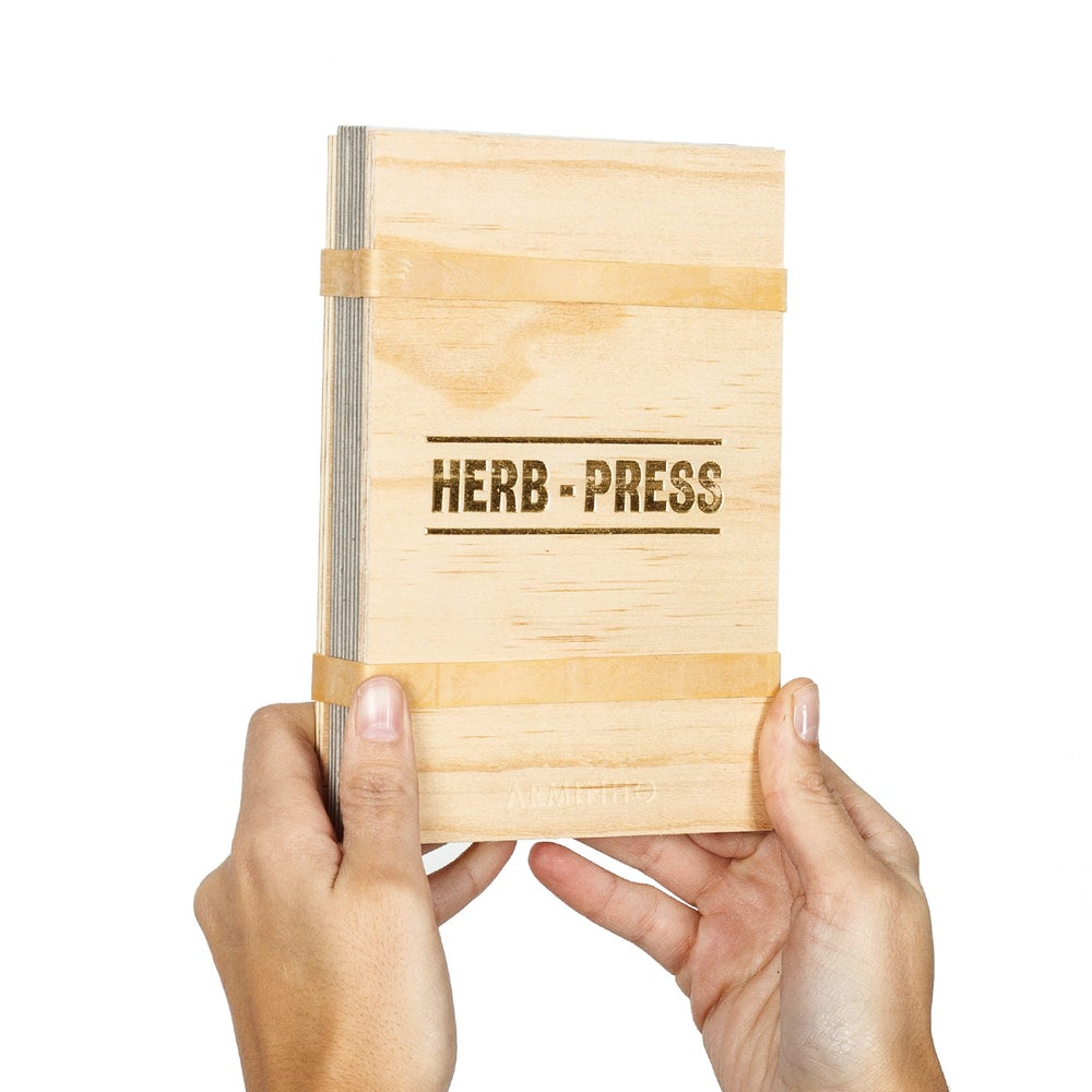 Image of Herb-press - small natural