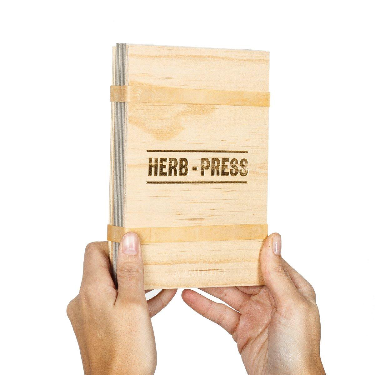 Image of Herb-press - small natural