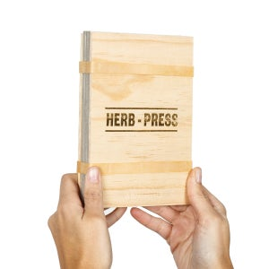 Herb-press - small natural - arminho