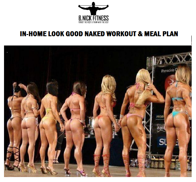 Image of IN-HOME LOOK GOOD NAKED WORKOUT & MEAL PLAN