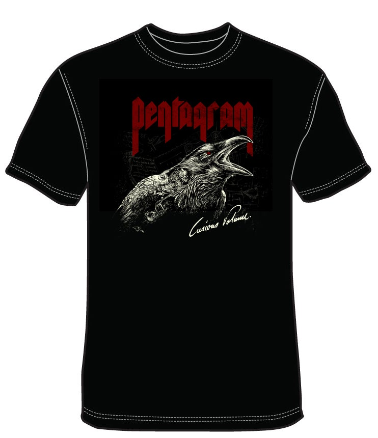 Image of Pentagram - Curious Volume Red/White/Black