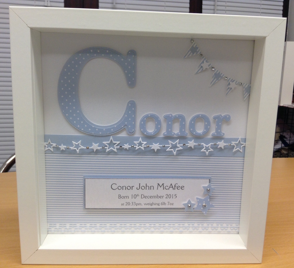 Image of Personalised Baby Name Frame