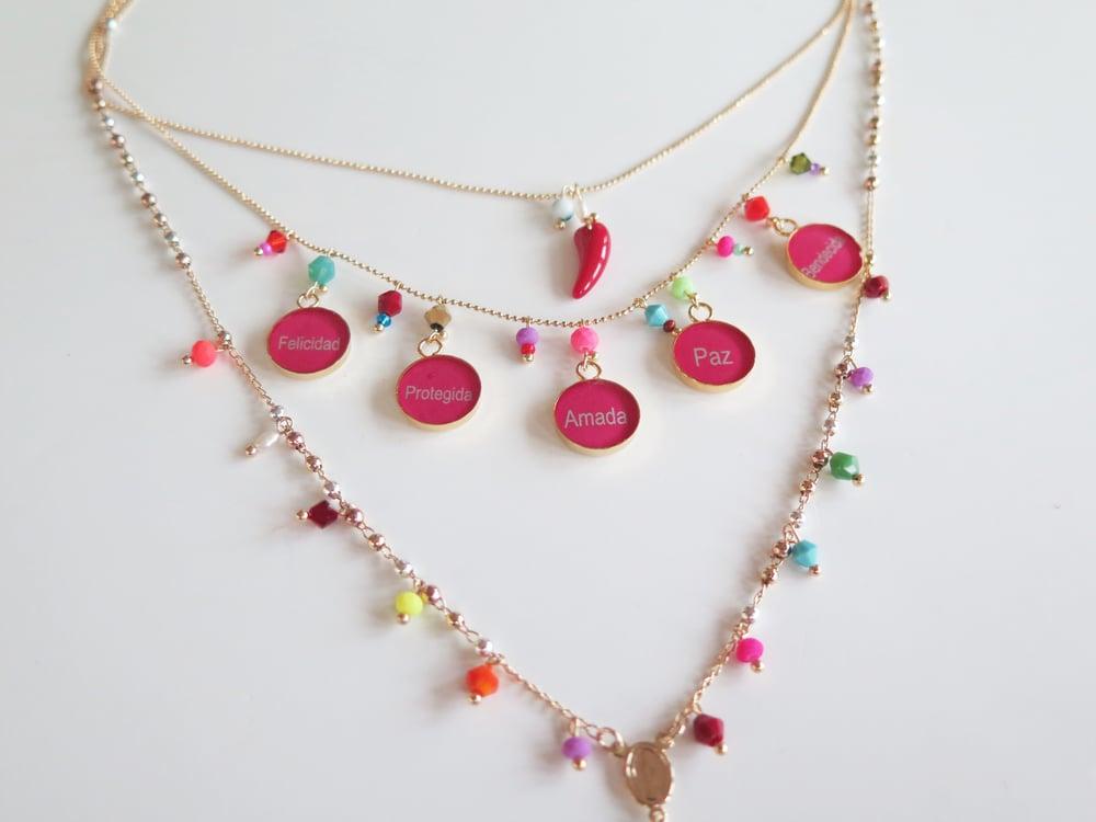 Image of Triple Harmony Multicolor Rosary