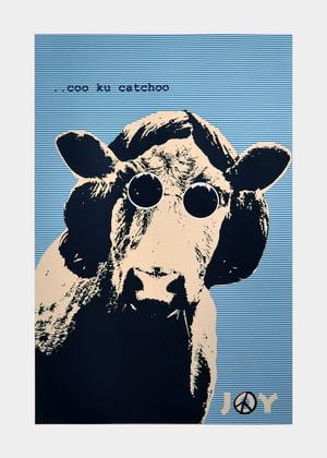 Image of Joy - Coo cu catchoo blue stripes