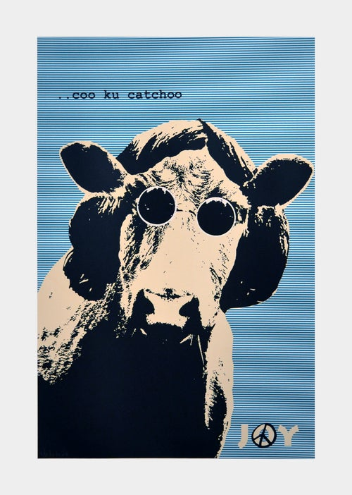 Image of Joy - Coo cu catchoo blue stripes