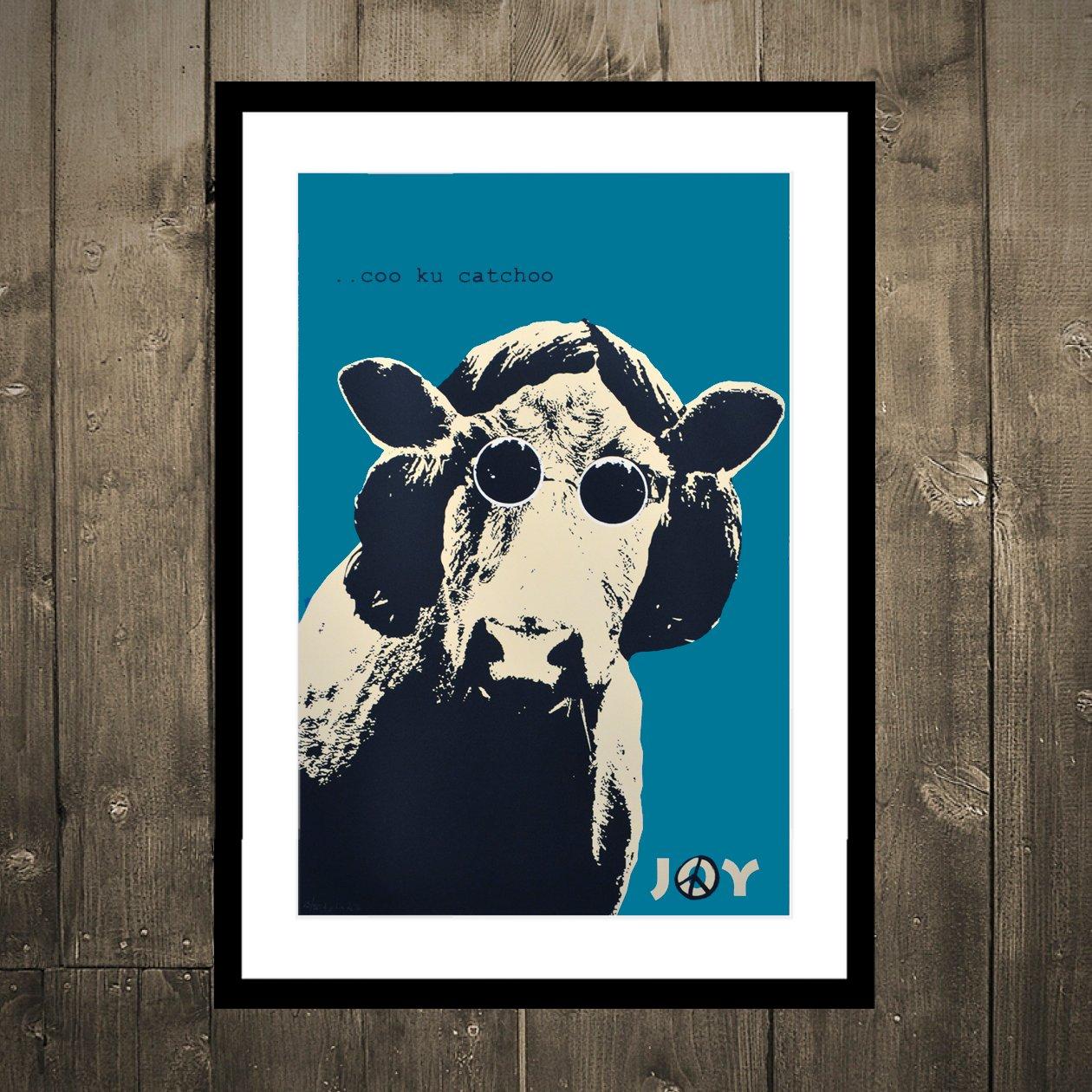 Image of Joy - Coo cu catchoo turqouise