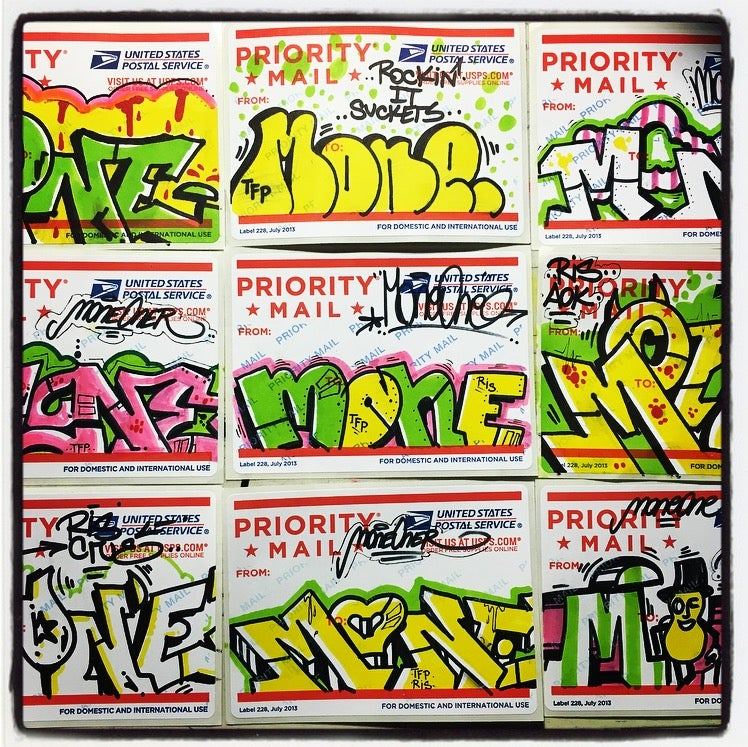 Image of MONE RIS STICKER PACK