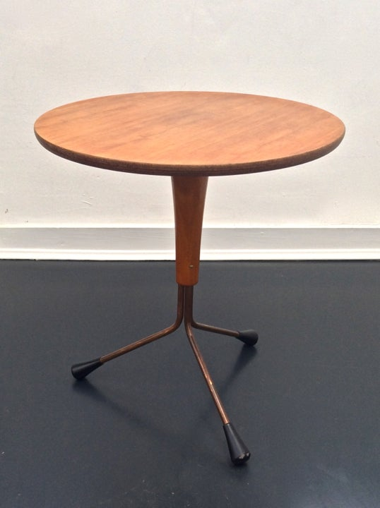 Image of Teak Side Table by Albert Larsson