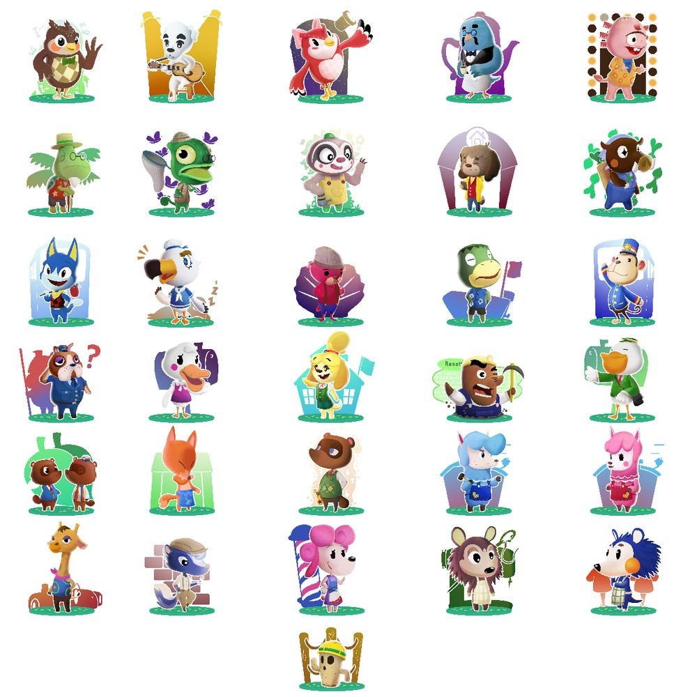 Image of Animal Crossing Print Packs!