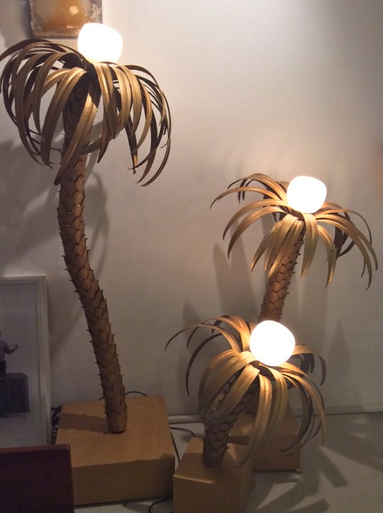 Image of Palm Tree Lamps, 1970s