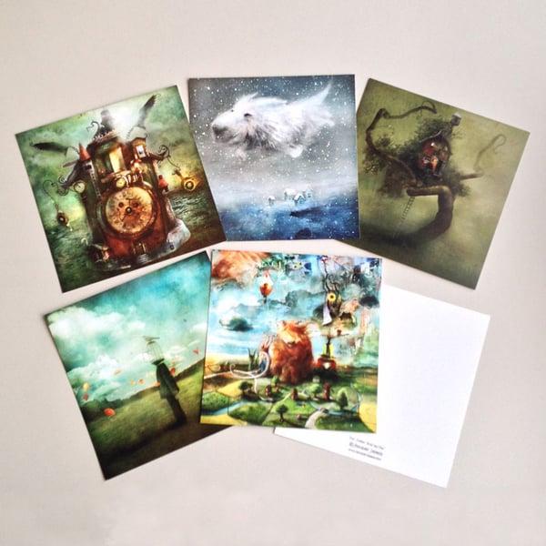 Set of Postcards nr:1 - Alexander Jansson Shop