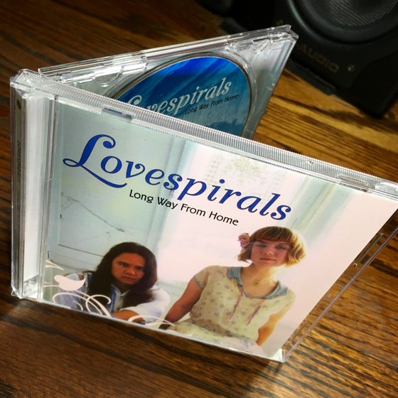 Image of Lovespirals 'Long Way From Home' CD