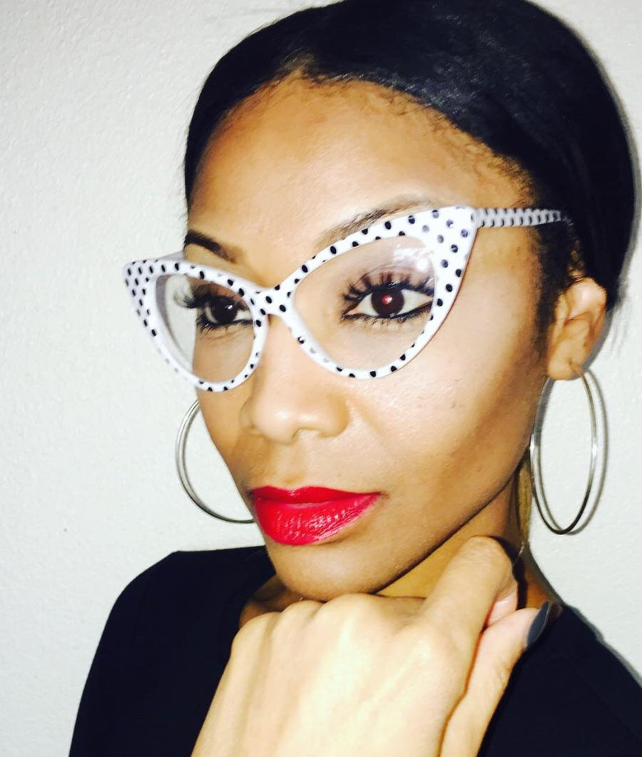 Image of BRANDY POLKADOT CATEYE