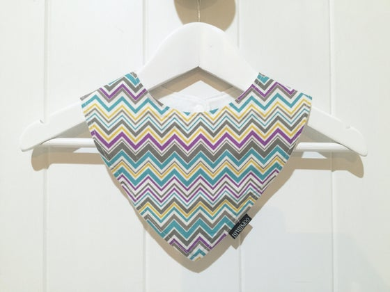 Image of Bandana Bib - Chevron
