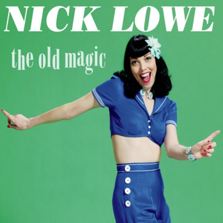 """Image of NICK LOWE """"THE OLD MAGIC"""""""