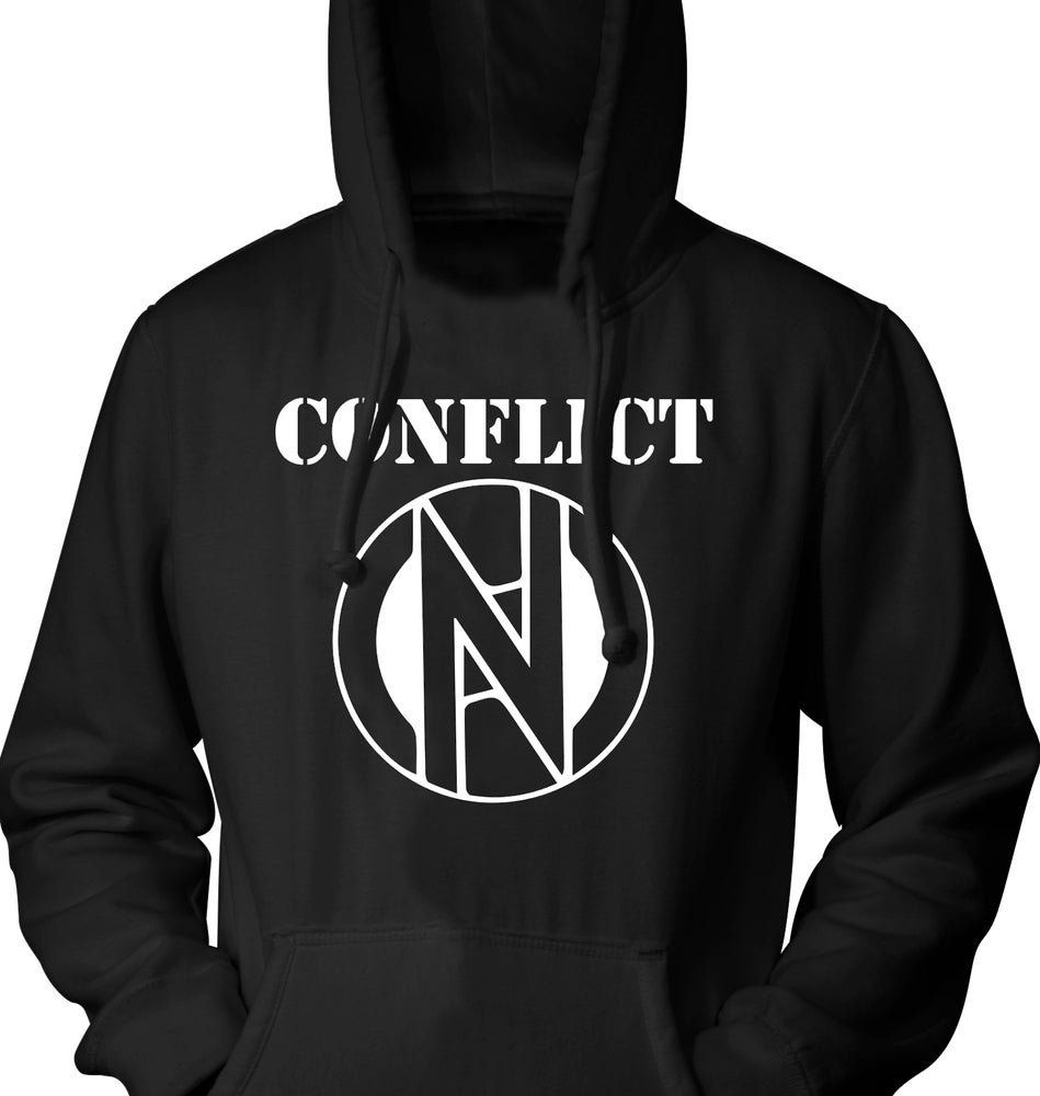 Image of Conflict Logo Hoodie