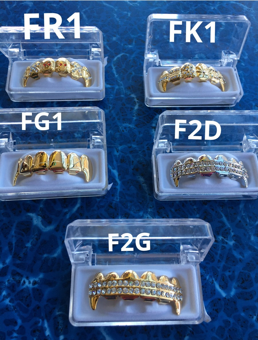 Image of FANGS GRILLZ  (TOP FANGZ ONLY)