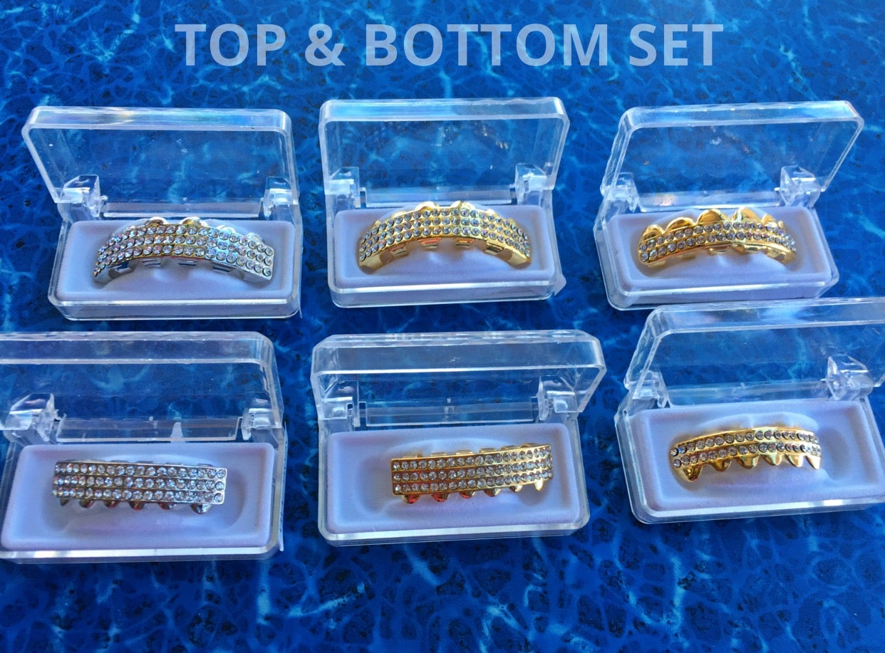 Image of GRILLZ TOP/BOTTOM (This is a SET ONLY)