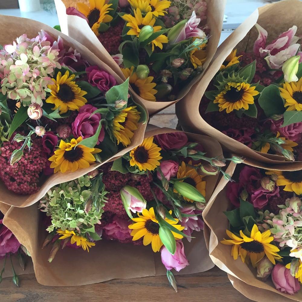 Image of 2018 Farmhouse Blooms Bouquet Subscription