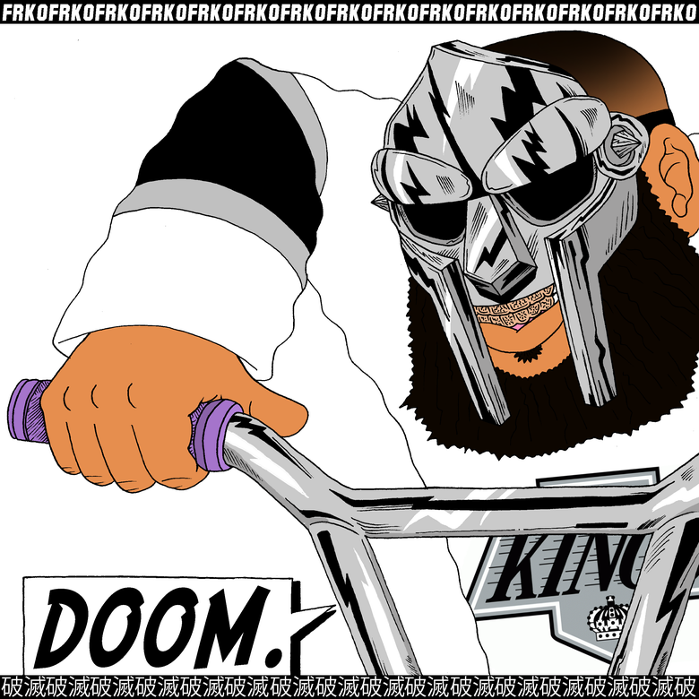 "Image of ""FR DOOM"" PRINT"
