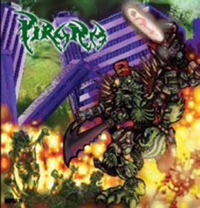 "Image of PIRAÑA ""Destructive Animal Revolution"" CD"