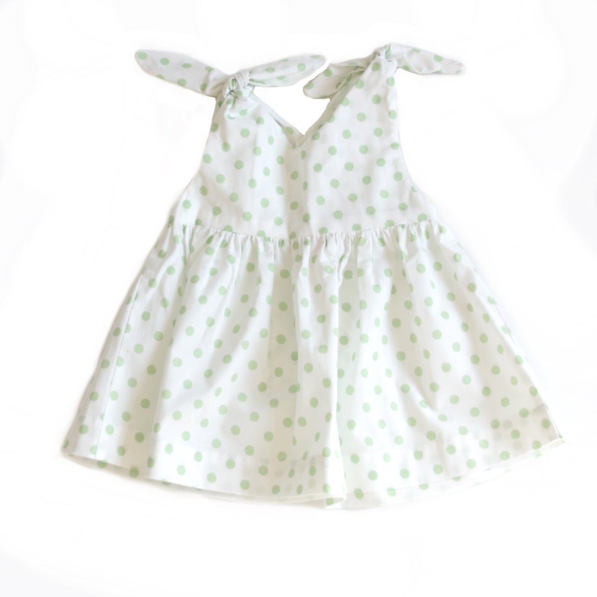Rabbit Top-green dot