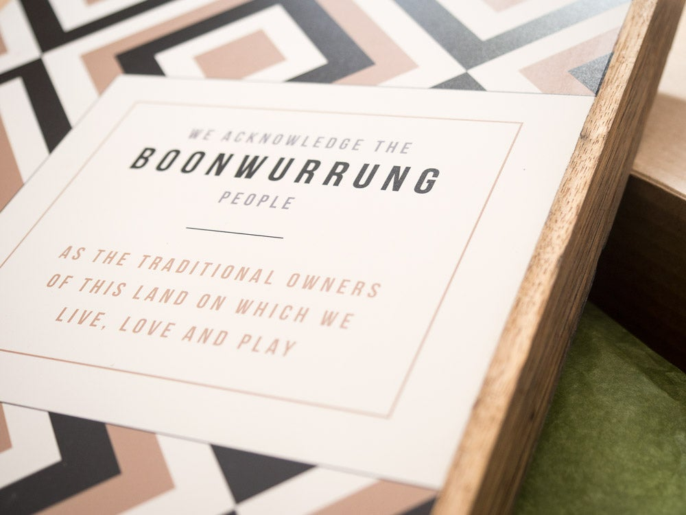 Image of WELCOME PLAQUE - BOONWURRUNG
