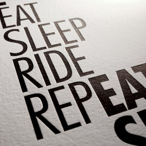 Image of 34 - Eat Sleep Ride Repeat