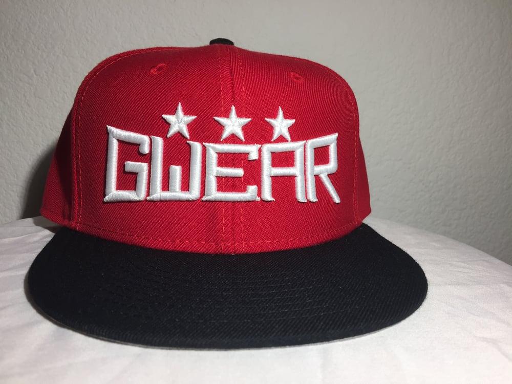 Red 3Star Snapback