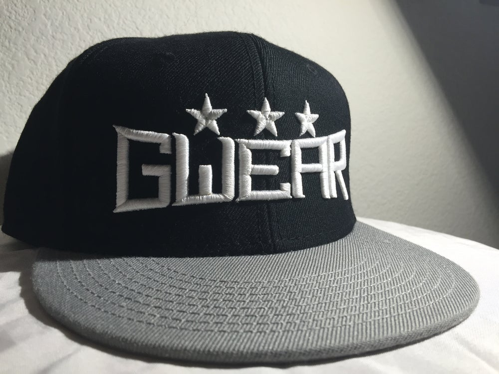 Image of Black 3Star Snapback