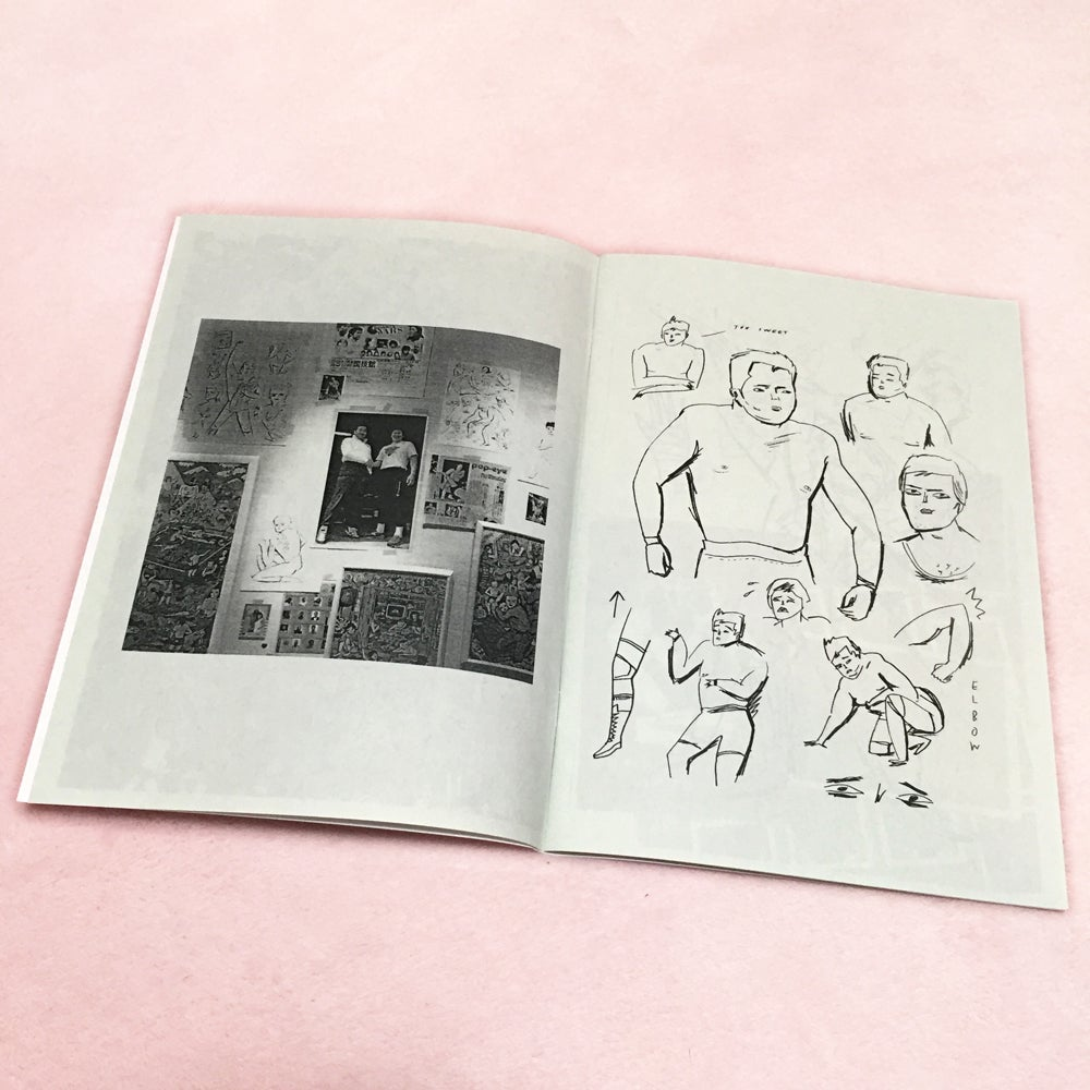 Image of WHITE MEAT BABY FACE ZINE - by BUNNY BISSOUX