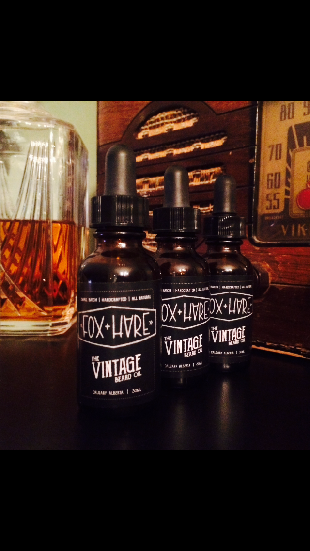 Image of The VINTAGE. Beard Oil - 1 Oz