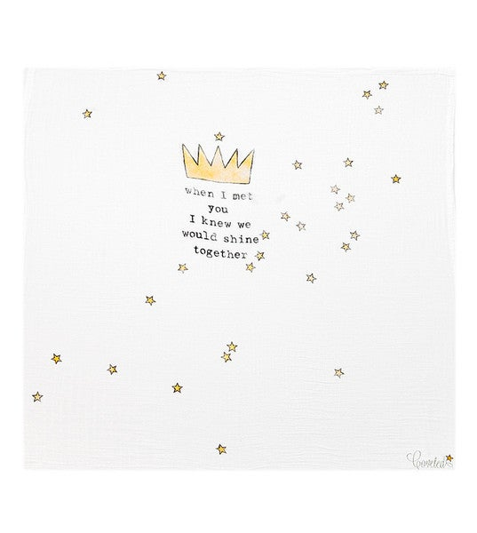 Image of Coveted Things Crown Swaddle