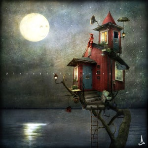 """Her only friend the Moon"" - Alexander Jansson Shop"
