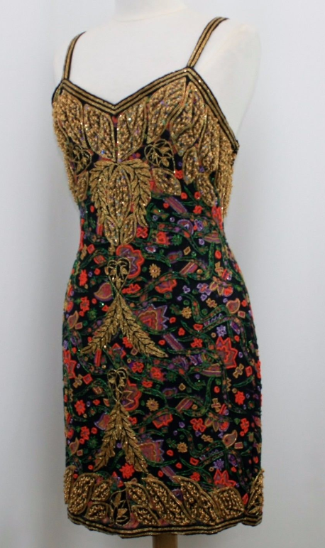 Image of Nadia Embroidered Dress