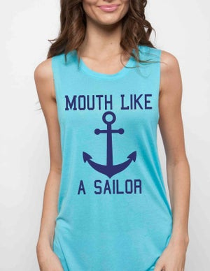 Image of MOUTH LIKE A SAILOR muscle