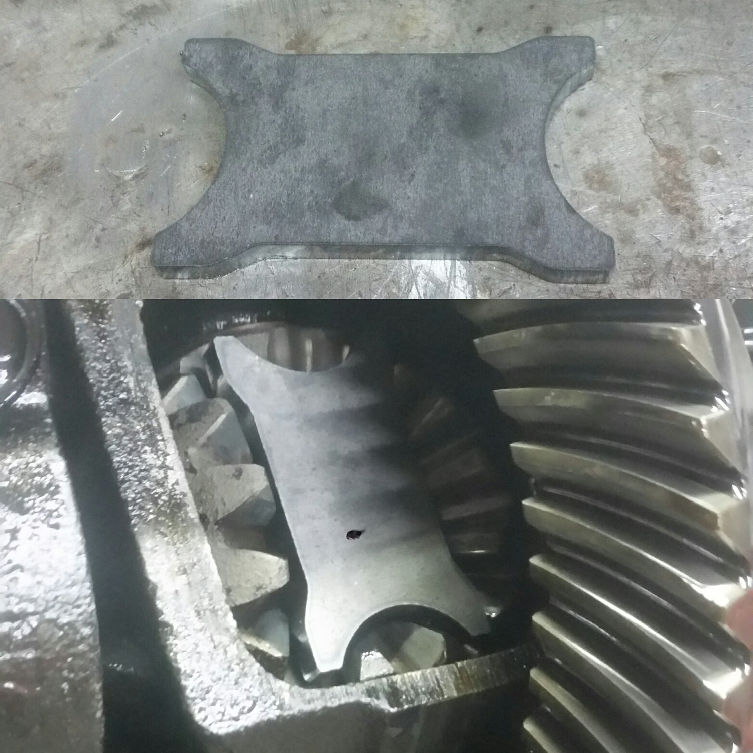 Villains Diy S Chassis Weld In Diff Plates
