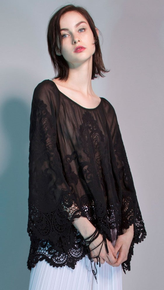 Image of Yoana Baraschi Saint-Amour Embroidered Blouse