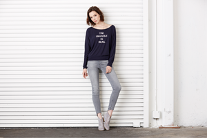 Image of THE SNUGGLE IS REAL Flowy L/S