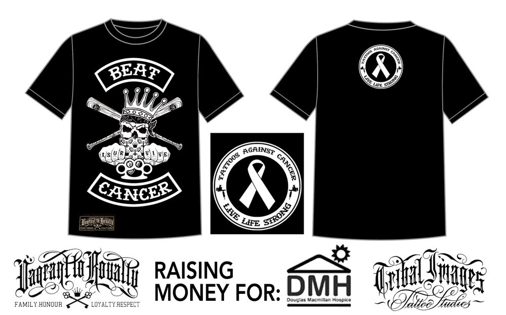 Image of Beat Cancer Charity Tee
