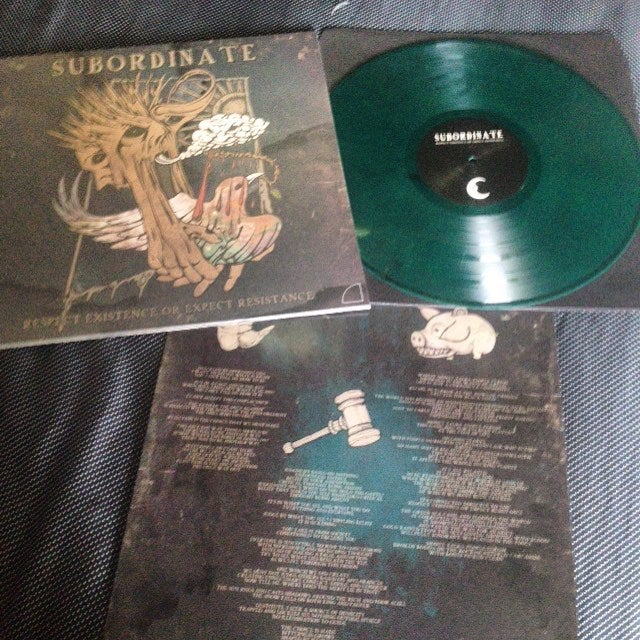 Image of Subordinate - 'Respect Existence or Expect Resistance' LP