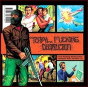 """Image of Total Fucking Destruction """"Compact Disc Version 1.0"""" CD"""