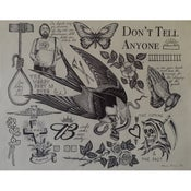 Image of Don't Tell Anyone 14x17 Limited Edition Archival Print