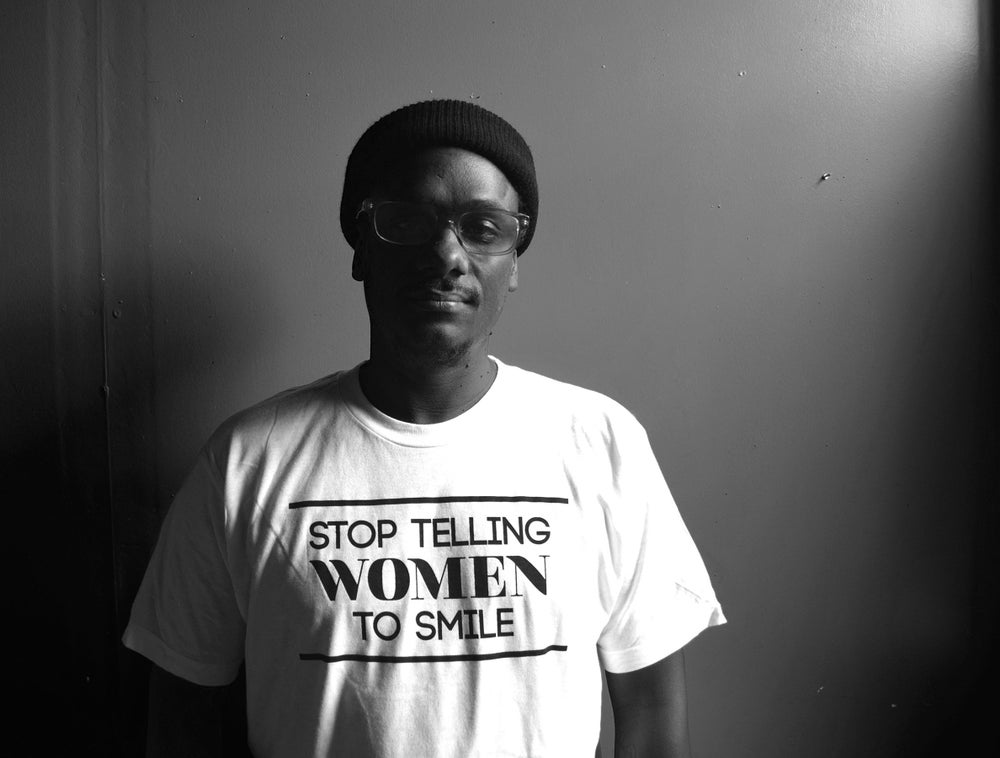 Image of Stop Telling Women To Smile Tee (White)